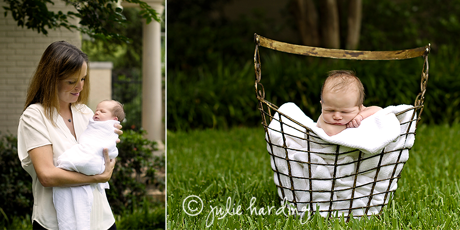 meet little e -fort worth newborn and family photographer