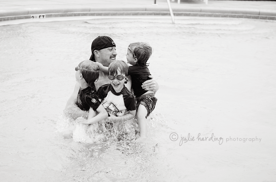 nickboyspoolBW 1 - letter to our sons - june · fort worth photographer