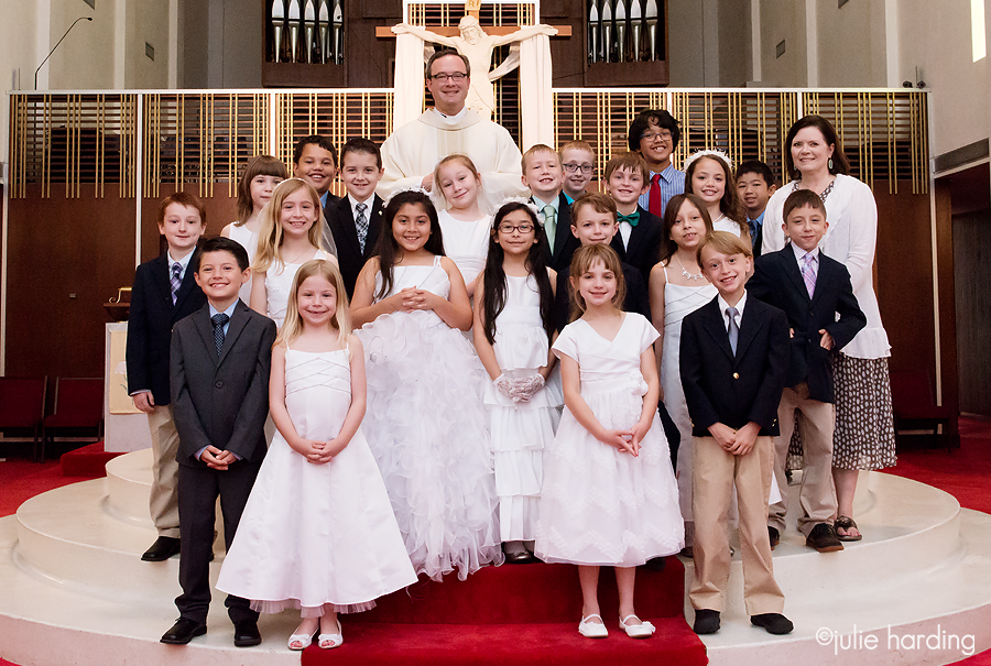 1st communion holy family catholic church fort worth, tx