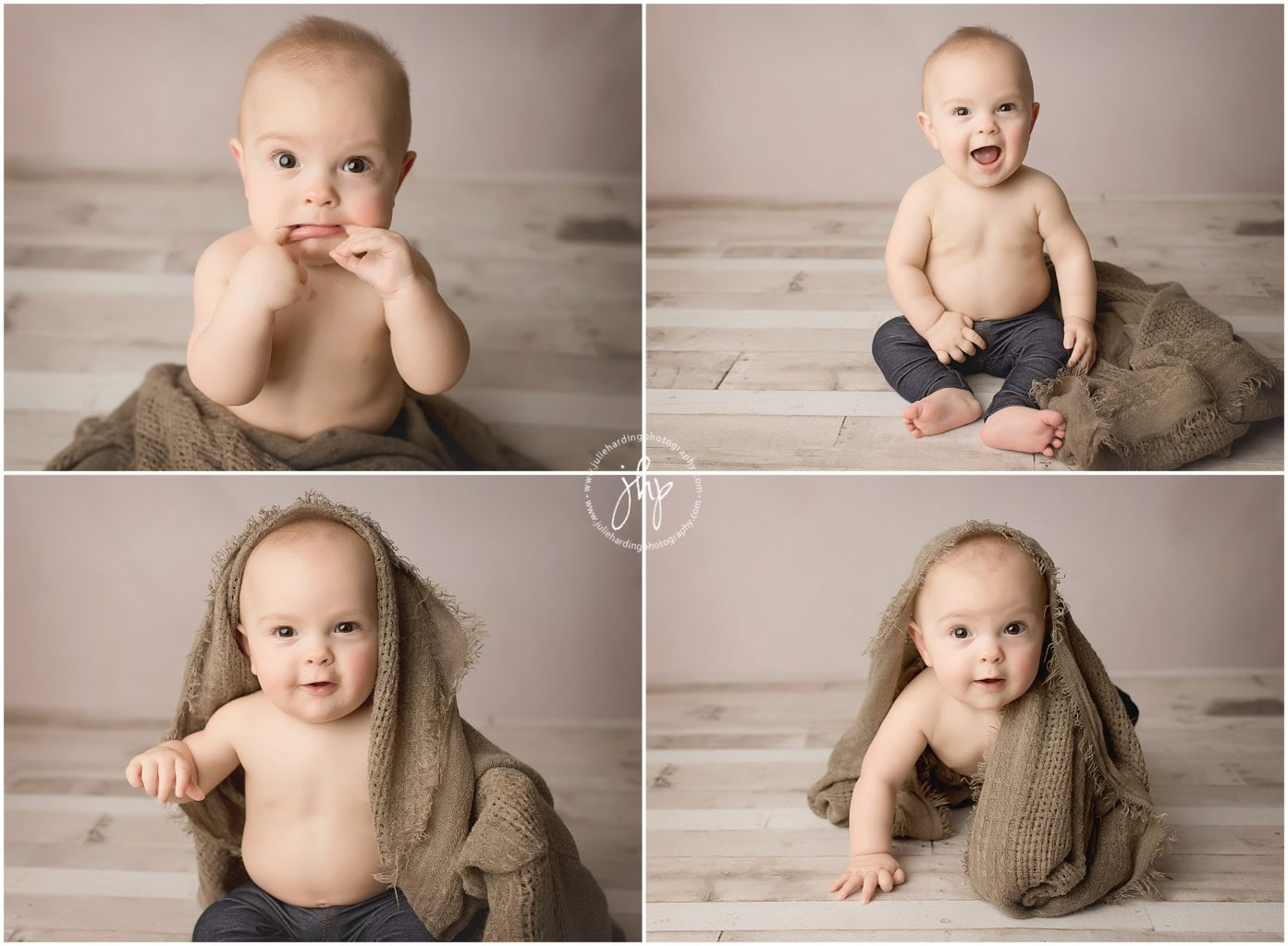 Milestone Six Month Photo Session Fort Worth
