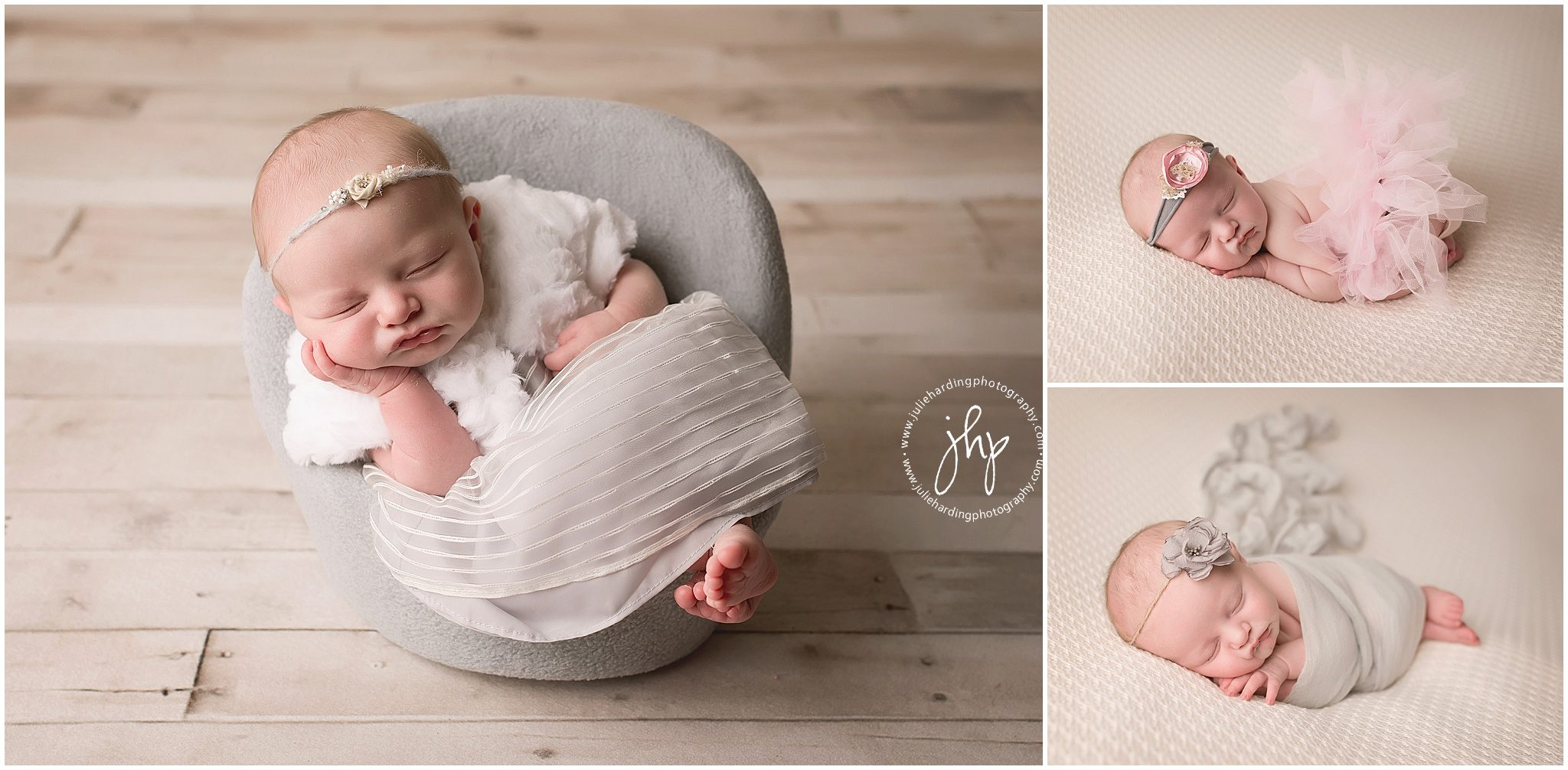 Studio Newborn photosession in Fort Worth