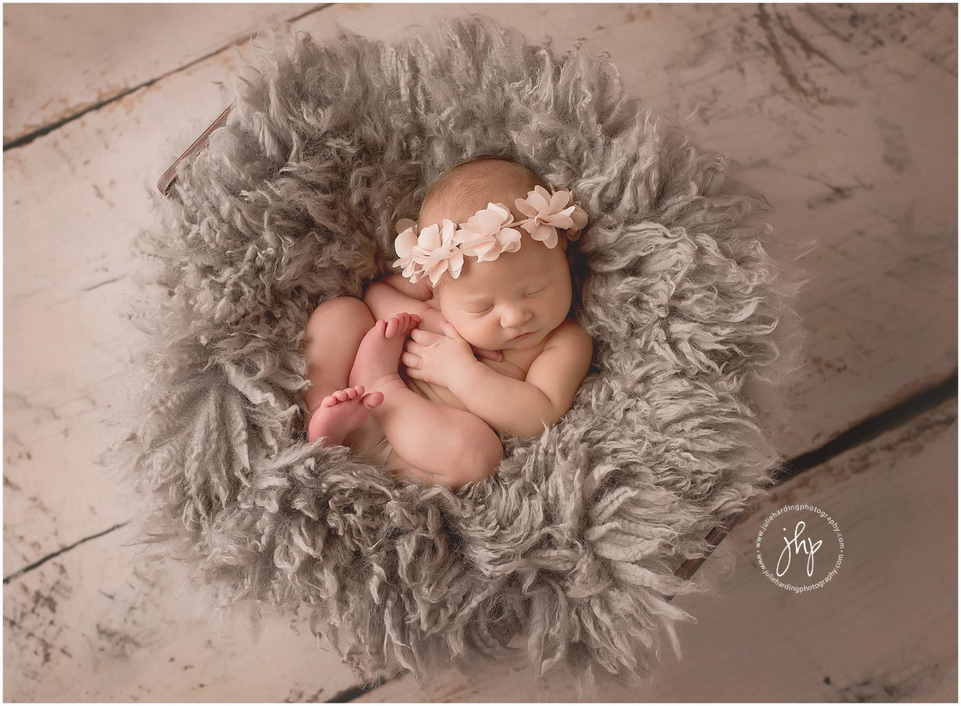 TCU Fort Worth newborn photo session