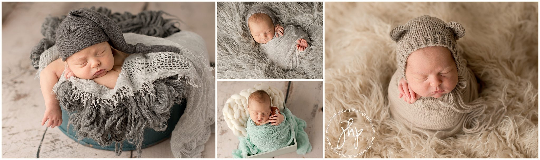 Newborn studio photosession Aledo