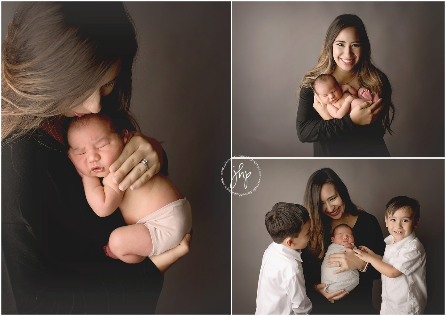 Newborn Boy Mom Photo Session Fort Worth