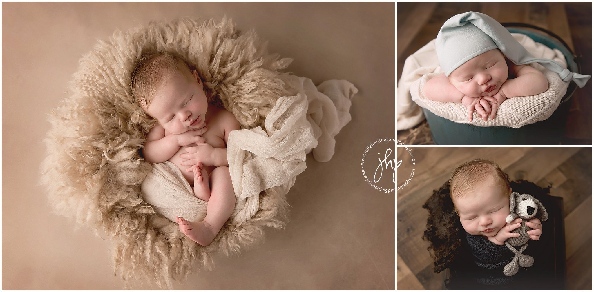 Evan In Studio Newborn Session