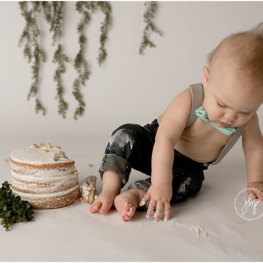 Carter's One Year Milestone Session