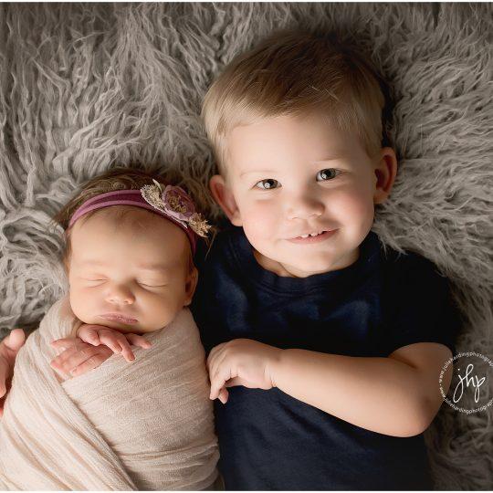 Keller Newborn Photo Session