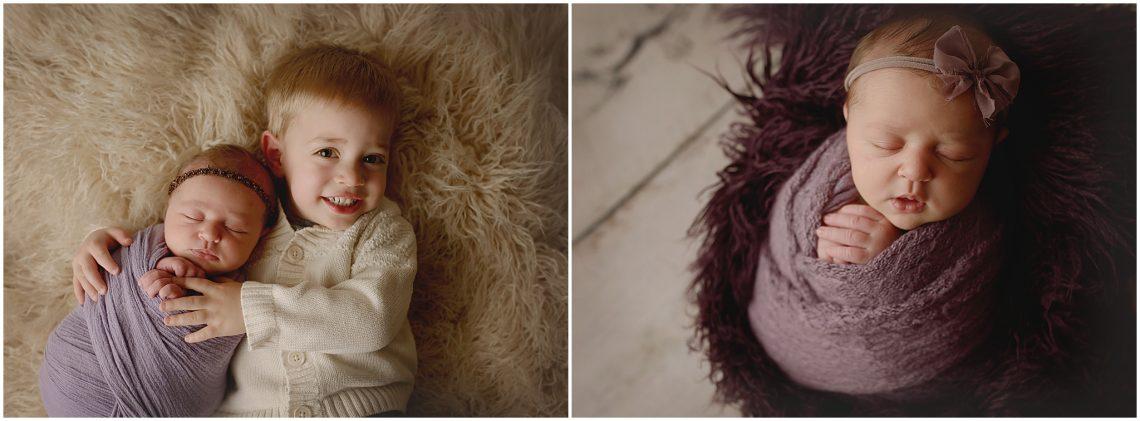 Newborn and Sibling Poses