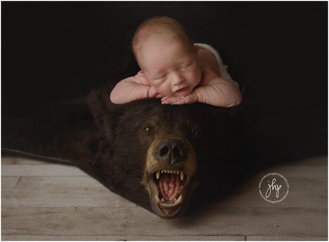 unique newborn session