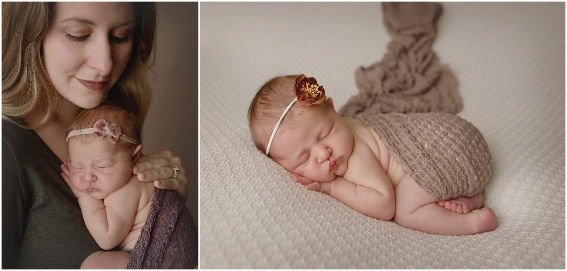 Violets Newborn Session