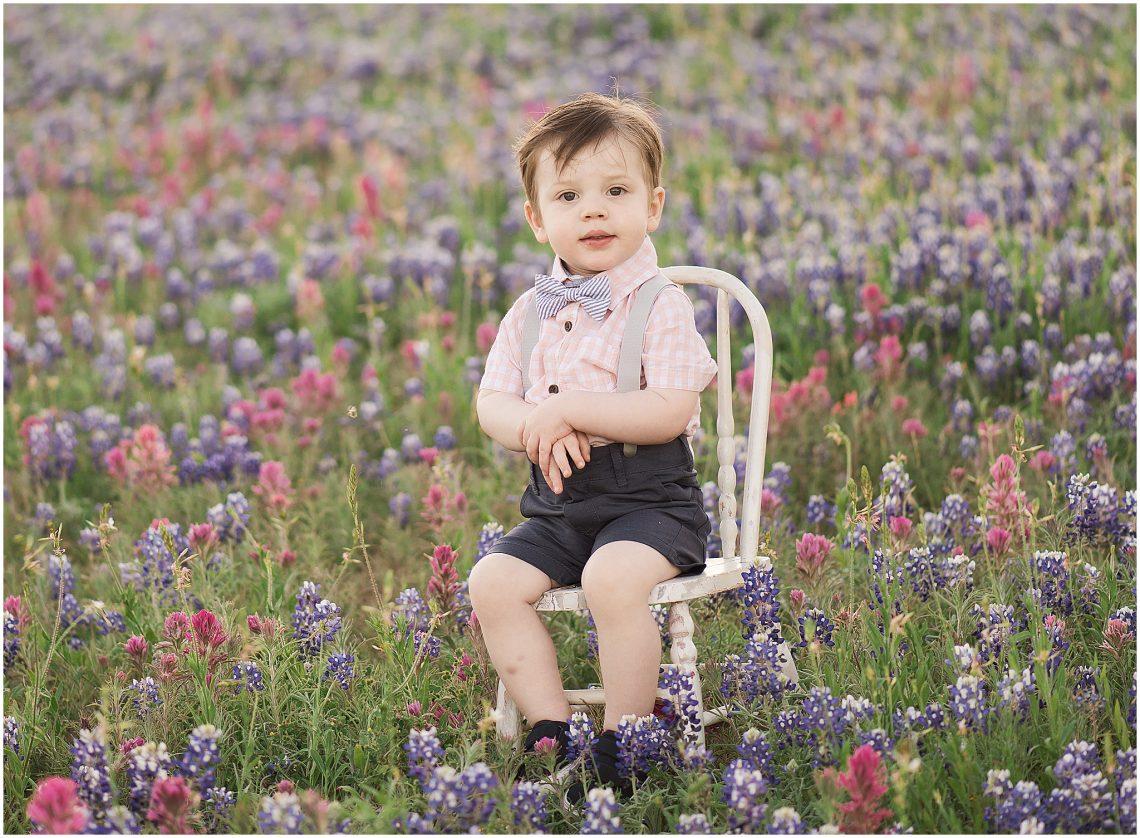Texas bluebonnet photo session