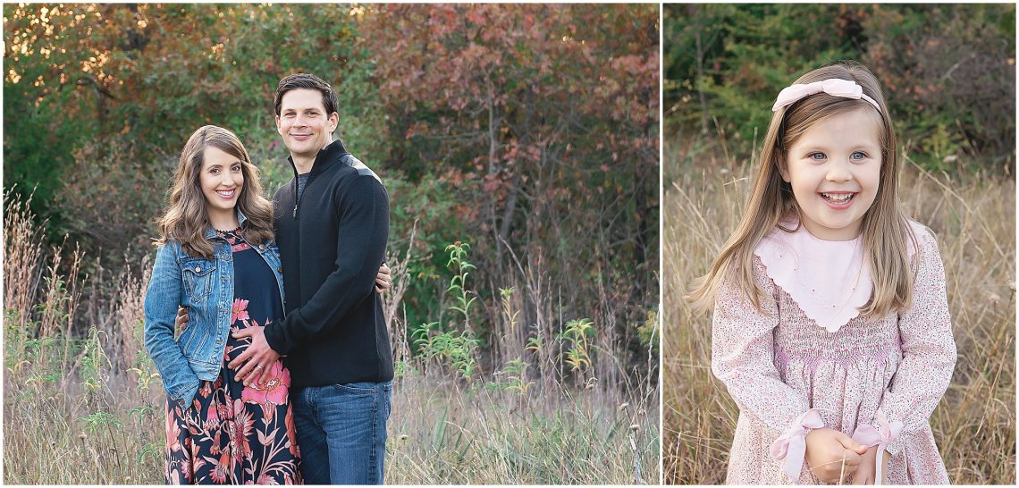 Family Maternity Session in Fort Worth