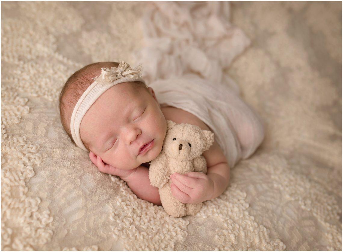 Newborn with Props