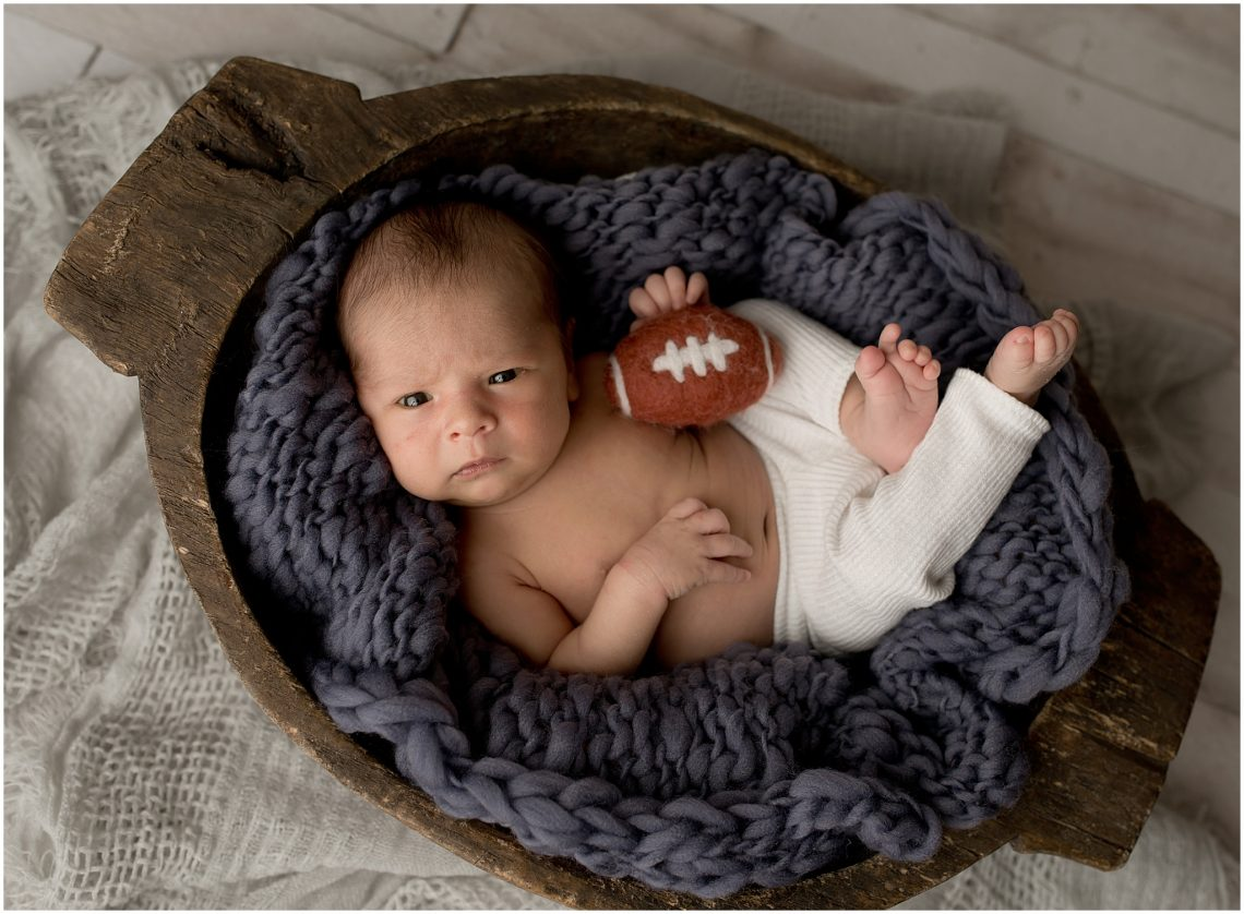 Newborn studio session